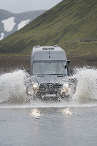Our 4X4 vehicles gets us to Iceland's interior