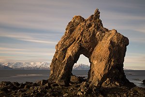 Rock arch, Iceland