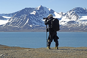 Photographing in Svalbard