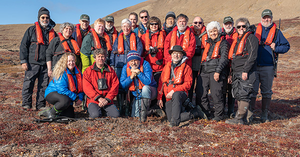 Our Greenland photo tour group