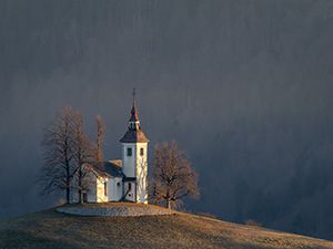 Baroque church Slovenia