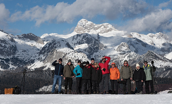 Joseph Van Os Photo Safaris group in Julian Alps Slovenia