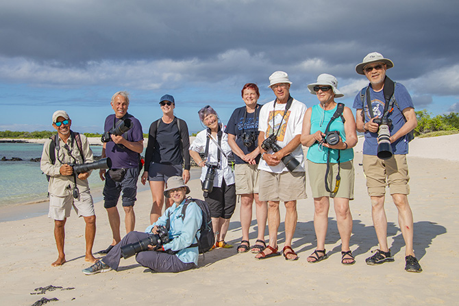 2019 Ultimate Galapagos trip participants
