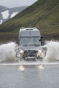 Our 4x4 vehicle takes us where others can't go