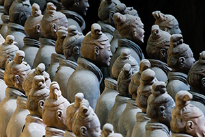 China's terra cotta warriors