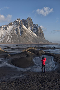 Photographing in Iceland in winter