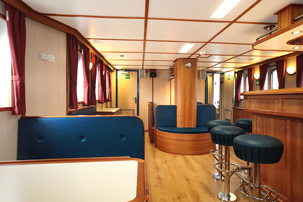 Interior of Rembrandt van Rijn ship